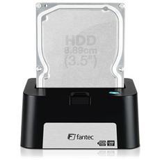 """Docking Station MR-U3e per Hard Disk 2.5"""" / 3.5"""" Interfaccia eSata / USB 3.0 Colore Nero"""