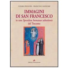 Immagini di san Francesco in uno Speculum humanae salvationis del Trecento