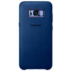 Alcantara Cover per Galaxy S8 - Blu