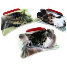 set di 6 promemoria 'un amour d'animaux' gatti - [ l2487]