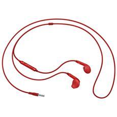 """EO-EG920L, Stereofonico, 3.5 mm (1/8"""") , Interno orecchio, Rosso, Cablato, Intraurale"""