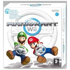 WII - Mario Kart + Volante
