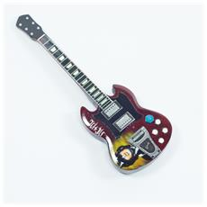 Magnete forma chitarra - AC / DC - Angus Young