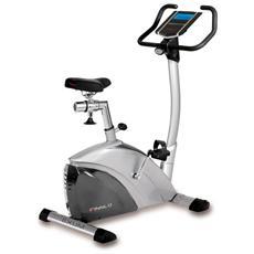 Bici Camera Cyclette EXUM III 12 profili utenti sella gel manubrio regolabile Volano 10 kg