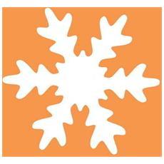 Fustella da 50 mm Fiocco di Neve