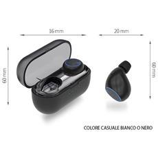 Cuffie Tb10 Con Box Scatola Ricarica Auricolare Bluetooth Wireless Stereo 4.2 Air Senza Fili Microfono Smartphone Ios Android