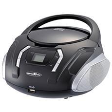 CDR2250U Digitale 32W Nero radio CD