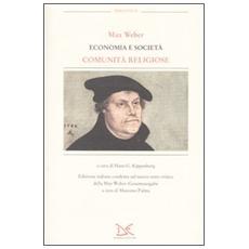 Economia e società. Comunità religiose