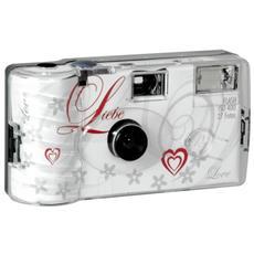 Single use Camera Flash 400 27 Love bianco