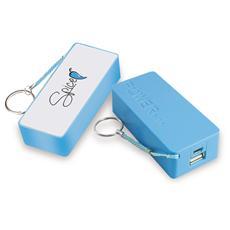 Power Bank Batteria di Emergenza 5200 mAh. Colore Azzurro