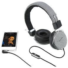 Cuffie Hi-Deejay On-Ear con Control Talk Colore Nero