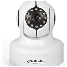 SP011 IP Camera Wireless con Wi-Fi allarme + Slot MicroSD fino a 128GB