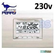 1crcds29 - Cronotermostato Incasso Universale Serie Next 230v