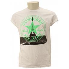 T-shirt Uomo City Man Xl Bianco