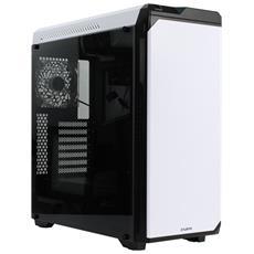 Case Z9 Neo Plus Middle Tower ATX / Micro-ATX / Mini-ITX 2 Porte USB 3.0 Colore Bianco (Finestrato)