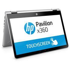 "Notebook 2 in1 Pavilion x360 14-ba023nl Monitor 14"" HD Touch Screen Intel Pentium Gold 4415U Ram 8GB SSD 128GB 3xUSB 3.1 Windows 10 Home"