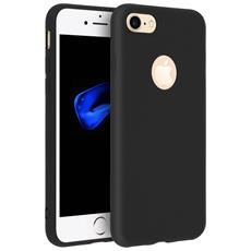 Cover Iphone 7 / 8 Soft Touch Silicone Gel Morbido - Nera