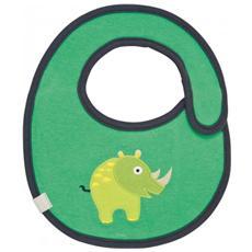 Wildlife Rhino, Verde, Cotone, Poliestere, Poliuretano, Velcro