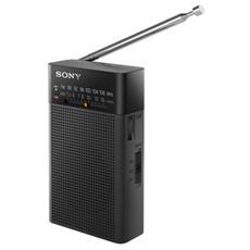 Radio portatile FM / AM con altoparlante, nero