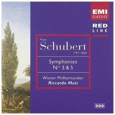 Schubert - Symphonies N 3 And 5