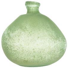 Vaso In Vetro 33x33 Cm Verde Arredo Design Casa Natale