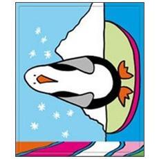 Pinguino. Libro bagno
