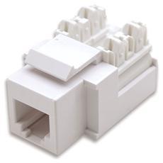 IWP-MD TEL-WH - Frutti Telefonici RJ11 / RJ12 Keystone Bianco