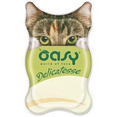 Wet Cat Delicatesse Paté Con Merluzzo Vaschetta 85gr