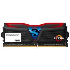 Memoria Dimm Super Luce 16 GB (2 x 8 GB) DDR4 2400 MHz CL 36 AMD Ryzen Edition