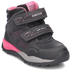 GEOX - Scarpe Jr Orizont Girl Abx J742bf0aucec9999 Taglia 27 Colore Nero d1adee25b37