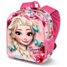 c8f034c465 KARACTERMANIA - Cartella Zainetto Zaino Scuola Asilo 3d - Disney Frozen Elsa