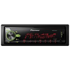 Mvh-x580bt. Bande Del Sintonizzatore: Am, Fm, Sistema Audio: Mosfet. Righe Di Testo: 1.5, Tipo Di Display: Lcd. Colore Del Prodotto: Nero. Potenza In Uscita: 4 X 50w. Formati Audio Supportati: Aac, Flac, Mp3, Wav, Wma - Mvh-x580bt
