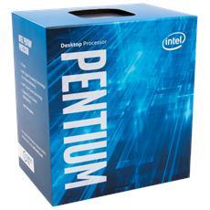 Processore Pentium G4560 (Kaby Lake) Dual-Core 3.5 GHz GPU integrata Intel HD 610 Socket LGA 1151 Boxato (Dissipatore Incluso)