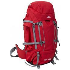 Trek 66 Zaino Da Trekking 66 Litri (taglia Unica) (tonalità Di Rosso)