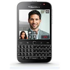 """Classic Nero 16 GB 4G / LTE Display 3.5"""" Slot Micro SD Fotocamera 8 Mpx BlackBerry Europa"""