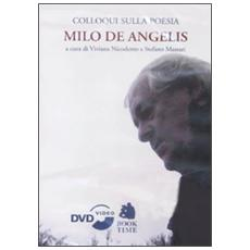 Colloqui sulla poesia. Milo De Angelis. DVD