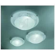 Illuminazione 2158-40-V - Plafoniera In Vetro