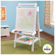 Legno Adjustable Wooden Easel - White 65x62x122 62040