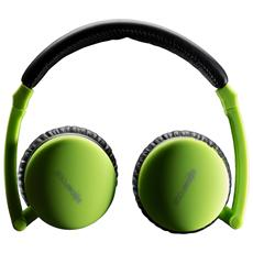 Cuffie On-Ear Wireless Skypods Bluetooth colore Verde