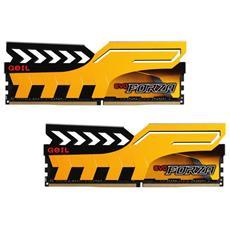 Memoria Dimm Evo Forza 16 GB (2 x 8 GB) DDR4 2400 MHz CL 36 Colore Giallo AMD Ryzen Edition