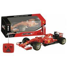 R / c Ferrari Sf15-t - 1:18 - 34x16x12cm - 27-145 Mhz