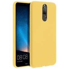Cover Huawei Mate 10 Lite Soft Touch Silicone Gel Morbido - Gialla