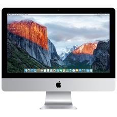 """iMac Monitor 21.5"""" Full HD 1920x1080 Intel Core i5-7360U 2.3 GHz Ram 8GB SSD 256GB Intel Iris Plus Graphics 640 4xUSB 3.0 OS X"""
