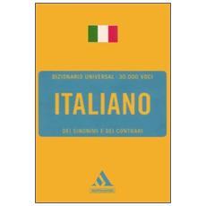 Italiano. Sinonimi e contrari
