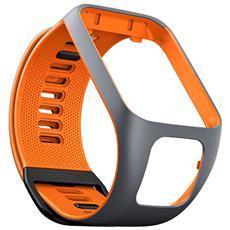 Braccialetto Watch R3 Regolabile Strap Small - Grigio / Arancione