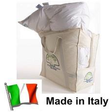 Piumino D'oca Bianco Con Piumetta Letto Singolo Made Italy Trentino