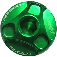 Tappo Olio Hexagon Verde