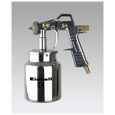 Pistola Spruzzo Aerografo Universale Con Serbatorio 1lt Per Compressore