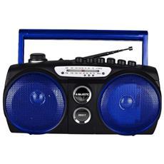 Radio Registratore Am / fm Portatile Con Cassetta