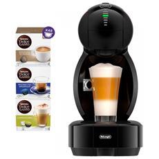 Macchina da Caffè Espresso Automatica Dolcegusto Colors Nera + 48 Capsule incluse RICONDIZIONATO